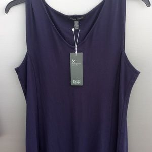NWT Eileen Fisher V Neck L Shaped Dress Size S/P
